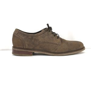 Cole Haan Nubuck Leather Oxford Dress Shoes NWOB